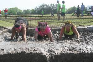 The mud run with two great friends that helped me catch the bug again.